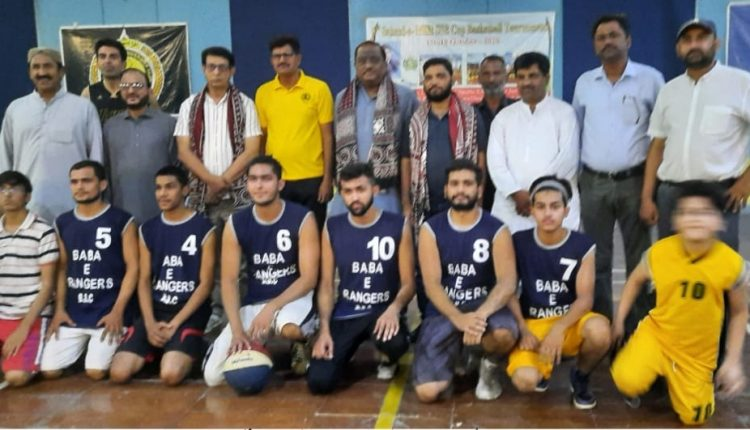 SSB Shaheed Millat Basketball Tournament has got off to a great start at Agricultural University Tandojam.